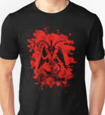 Baphomet bleached - red T-Shirt