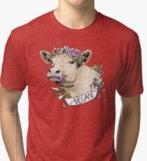 Camiseta de tejido mixto Daisy Vegan