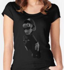 B&W Luigi Women's Fitted Scoop T-Shirt
