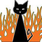 Black Cat by WaywardMuse
