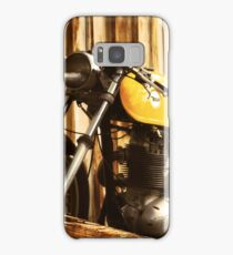 Cafe Racer on the Loading Dock Samsung Galaxy Case/Skin