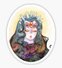 Goddess of the Universe Sticker
