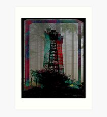 Tri-Color Lookout Art Print