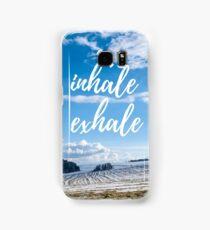 Inhale/Exhale Samsung Galaxy Case/Skin