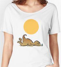 tan-o-saur Women's Relaxed Fit T-Shirt