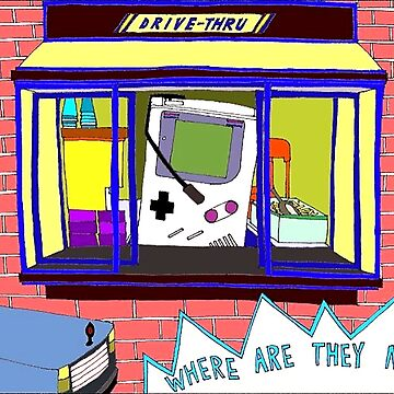 Broad City Where Are They Now Gameboy by autonomy