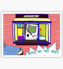 Broad City Where Are They Now Gameboy Sticker