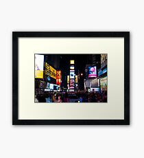 The Only Living Toon in New York Framed Print