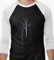 TREES 1 Men's Baseball ¾ T-Shirt