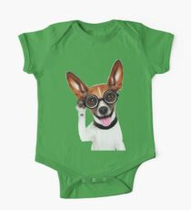Dog Wearing Glasses 1 Kids Clothes