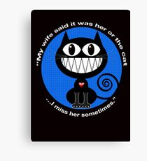I MISS HER SOMETIMES Canvas Print