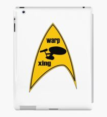warp xing iPad Case/Skin