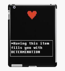 Determination - Item iPad Case/Skin