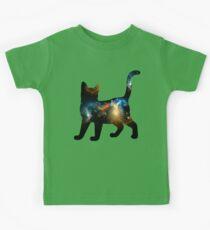 CELESTIAL CAT 3 Kids Tee