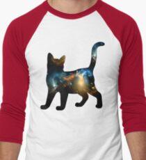 CELESTIAL CAT 3 Men's Baseball ¾ T-Shirt