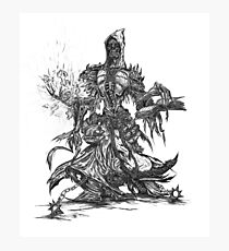 Lich unded mage Photographic Print