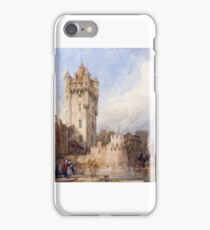 David Roberts - Kurfürstliche Burg, Eltville, on the Rhine, Germany iPhone Case/Skin