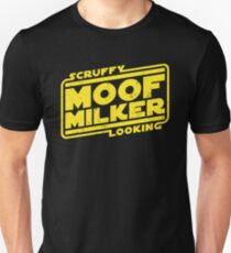 Scruffy Looking Moof Milker Unisex T-Shirt