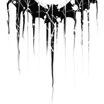 Bat Paint Splat  by Bradsite