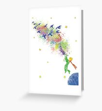 Le petit prince Greeting Card