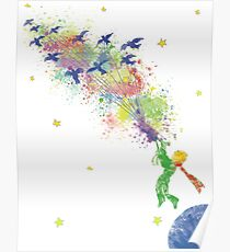 The little prince posters redbubble Decoration le petit prince