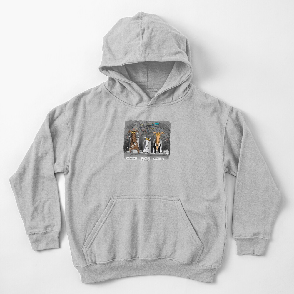 Hound Solo Tee Kids Pullover Hoodie