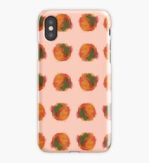 peach splash iPhone Case/Skin