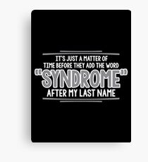 syndrome Canvas Print