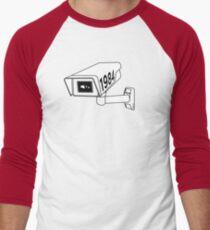 CCTV - George Orwell 1984 Men's Baseball ¾ T-Shirt