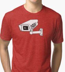 CCTV - George Orwell 1984 Tri-blend T-Shirt