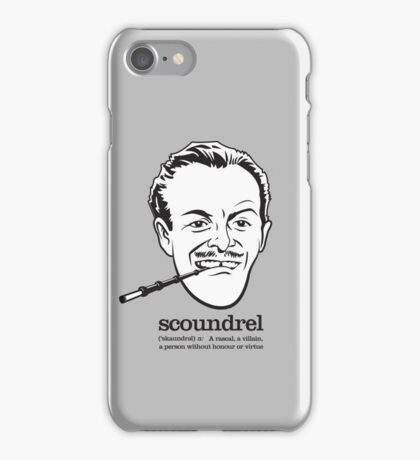 Scoundrel iPhone Case/Skin
