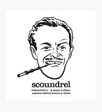 Scoundrel Photographic Print