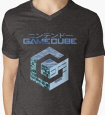 Vaporwave Gamecube Men's V-Neck T-Shirt