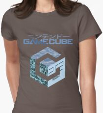 Vaporwave Gamecube Womens Fitted T-Shirt