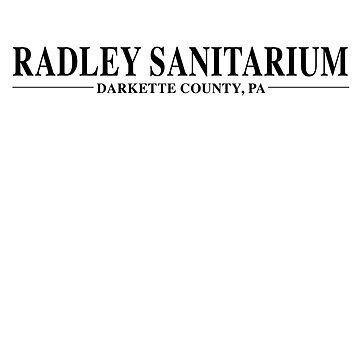 Radley Sanitarium by amzyydoodles