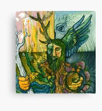 Odin - God of the Shamans Canvas Print