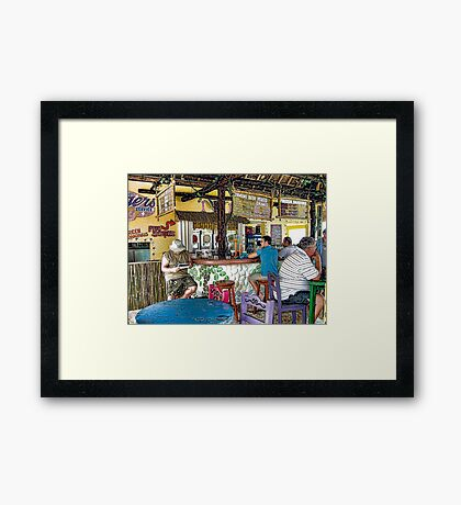 Fat Tuesday's Framed Print