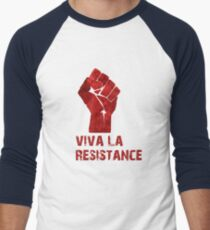 Viva La Resistance Men's Baseball ¾ T-Shirt