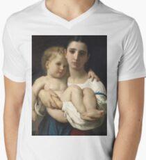 William Bouguereau  - The Elder Sister T-Shirt