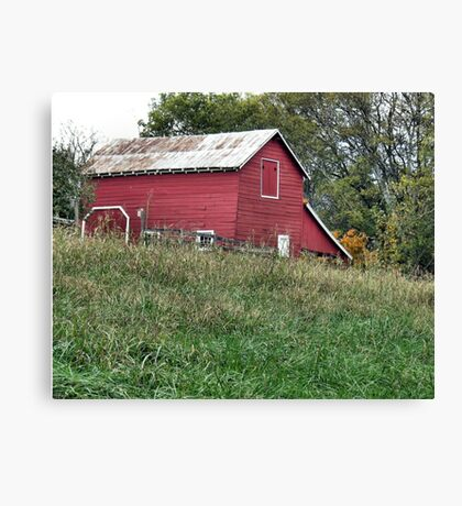 """""""Red Barn""""... prints and products Canvas Print"""
