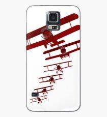 Retro Biplane Graphic Case/Skin for Samsung Galaxy