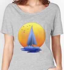 Catamaran Sailboat Women's Relaxed Fit T-Shirt