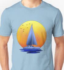 Catamaran Sailboat Unisex T-Shirt