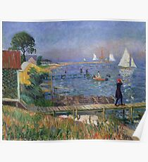 William Glackens - Bathers at Bellport  Poster