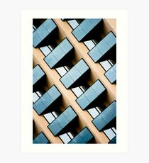 Rectangles and Reflection Art Print