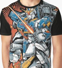Zeta Gundam Graphic T-Shirt