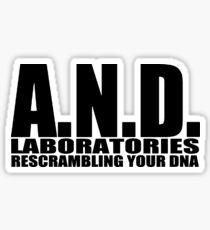 AND Laboratories Sticker