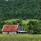 """""""A Farmer's Version of the Red Roof Inn""""... prints and products by © Bob Hall"""