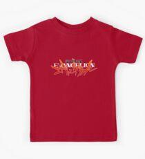 Neon Genesis Evangelion - Anime Logo Kids Tee