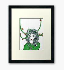 The green woodland elf- full size Framed Print
